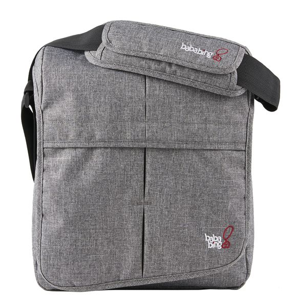 NEW! Compact and Lightweight, the BabaBing! DayTripper Lite Changing Bag in Grey Marl is the perfect product for parents on the move!