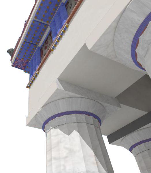 Ιστότοπος με τρισδιάστατη αναπαράσταση της αρχαίας Αθήνας. Παρουσιάζει τρισδιάστατες απεικονίσεις διαφόρων μνημείων της πόλης των Αθηνών, από τη Μυκηναϊκή περίοδο μέχρι την κατάληψή της από τους Τούρκους.