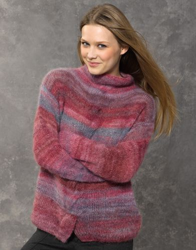 Book Woman Concept 2 Autumn / Winter | 49: Woman Sweater | Grey-Ruby-Rose-Maroon