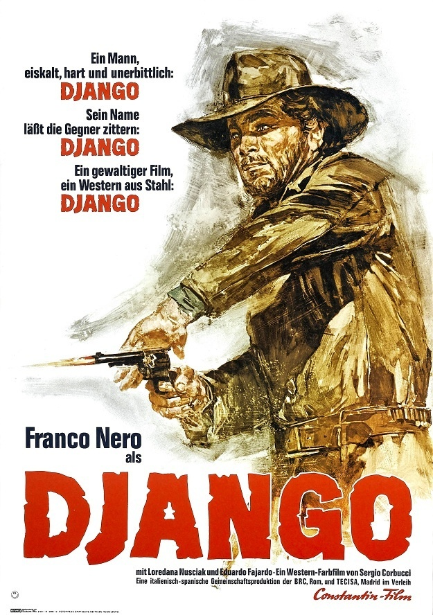 Django #movie #poster (1966) -Spaghetti Western