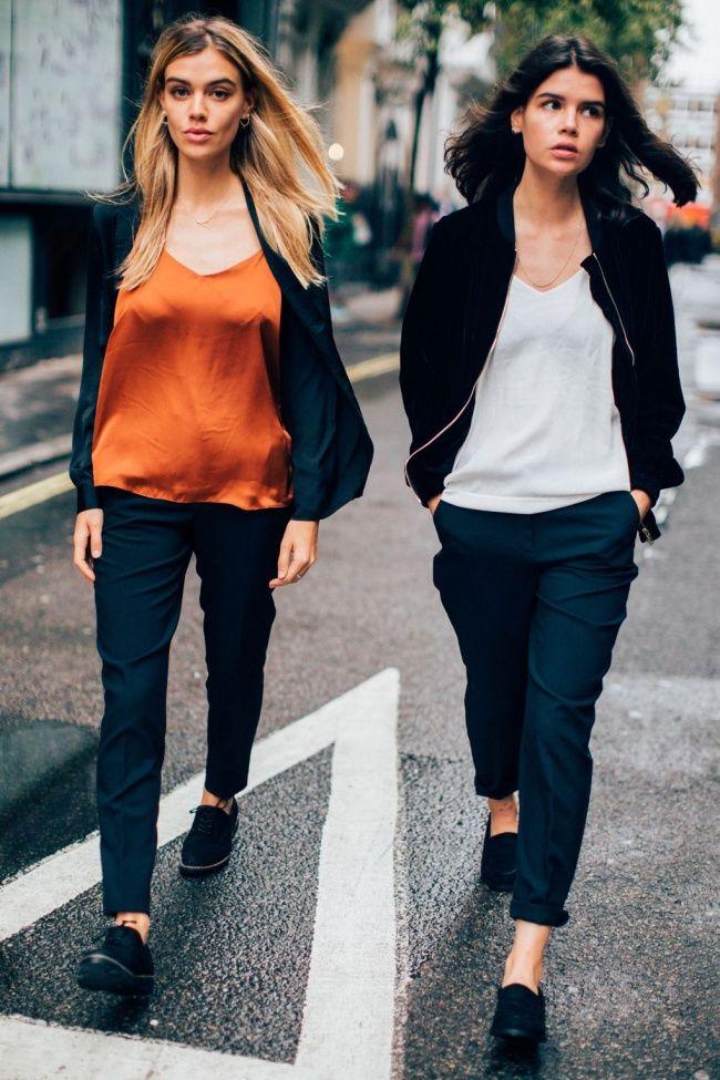 Decifrando Tendências: estilo tomboy, quando elementos da moda masculina como os sapatos oxford entram no look feminino.