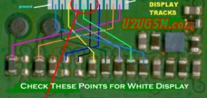Nokia 1202 White Display Problem Solution Jumpers Ways In 2020 Solutions Problem And Solution Light Display
