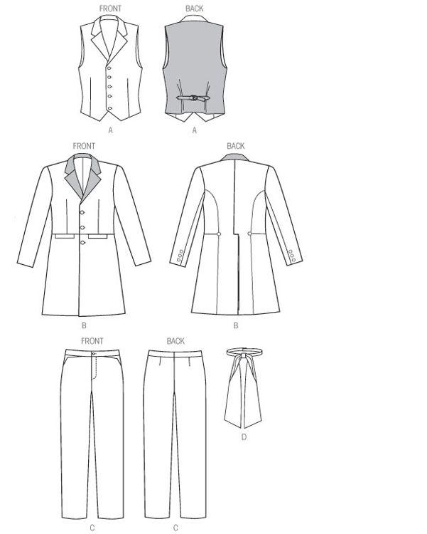 15 best DIY Sewing McCalls 7003 Mens Pattern Long