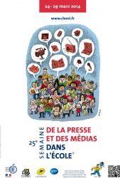 du 24 au 29 mars 2014. Des dizaines de revues portant sur un large panel de thématiques seront disponibles au CDI.Cliquez sur l'image pour accéder à l'accompagnement pédagogique proposé par le CLEMI.