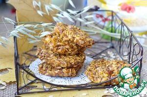 Тыквенно-овсяное печенье