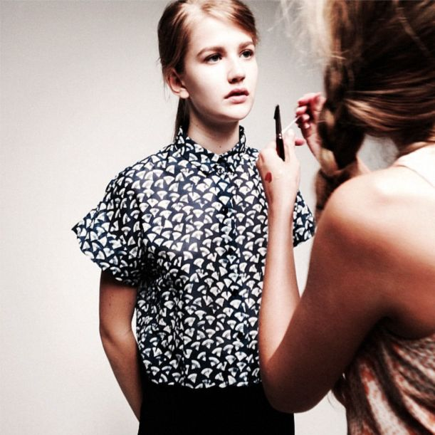 Behind the scenes at Samuji SS15 look book shoot