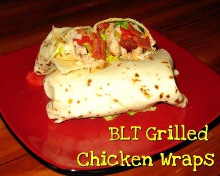 BLT Grilled Chicken Wraps http://www.momspantrykitchen.com/blt-grilled ...