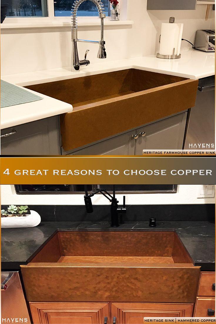 Custom Copper Sinks Undermount Topmount In 2020 Copper Sink