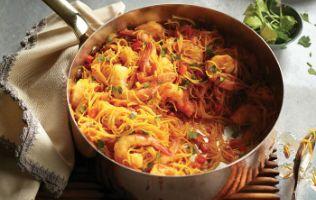 En moins de 30 minutes, ce repas de vermicelles plein de saveurs est servi!