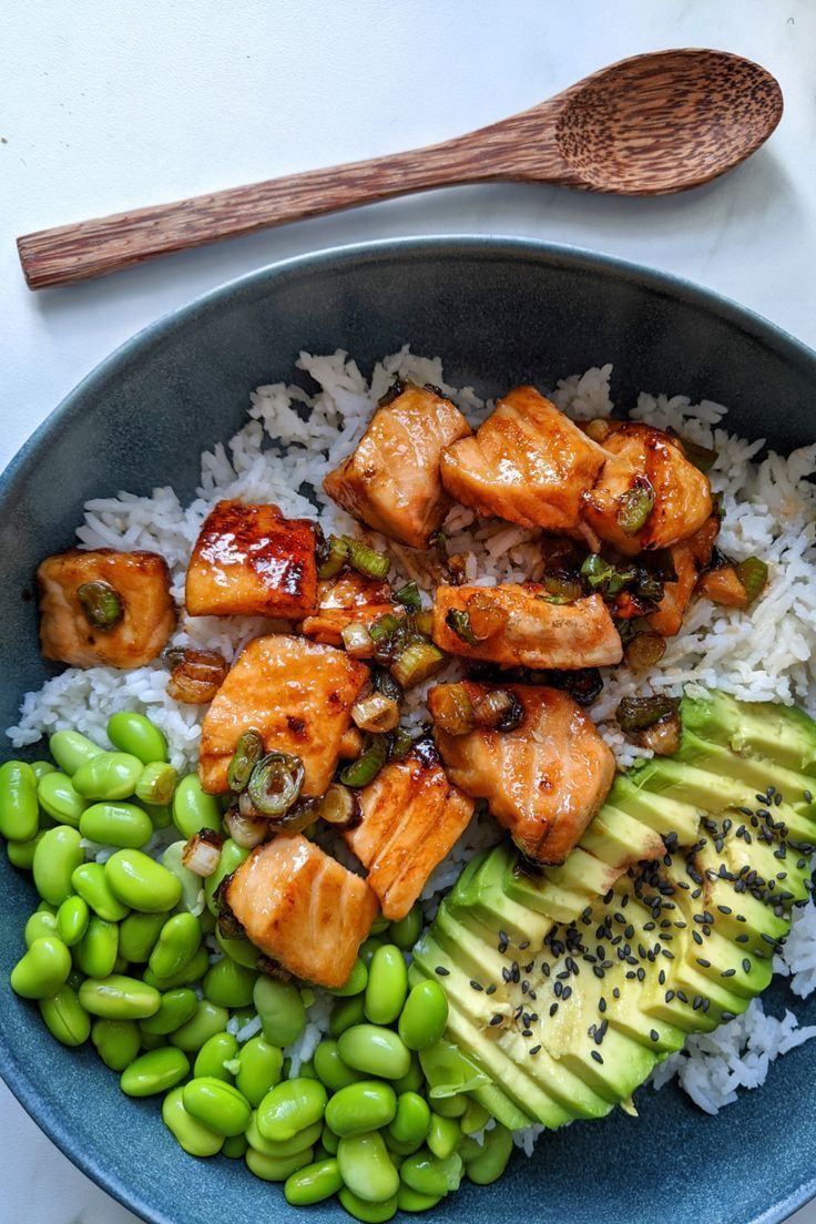 Health dinner salmon