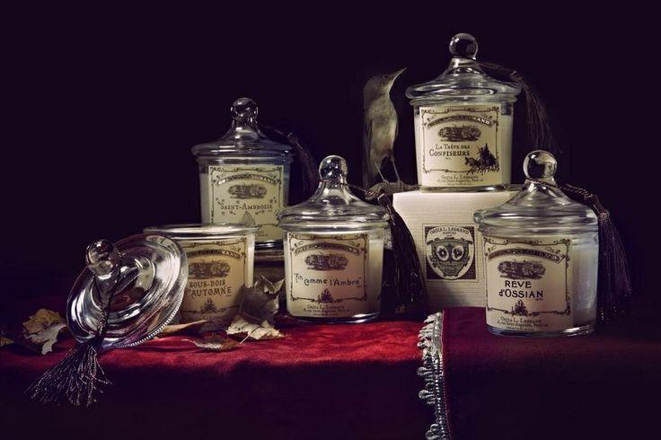 Bougies parfumées artisanales en cire végétale Oriza L.Legrand   #parfum #oriza #Paris # France  Photo : Roberto Greco
