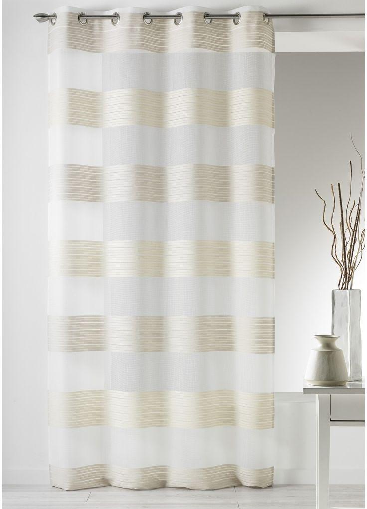 les 25 meilleures id es de la cat gorie rideaux rayures horizontales sur pinterest rideaux. Black Bedroom Furniture Sets. Home Design Ideas