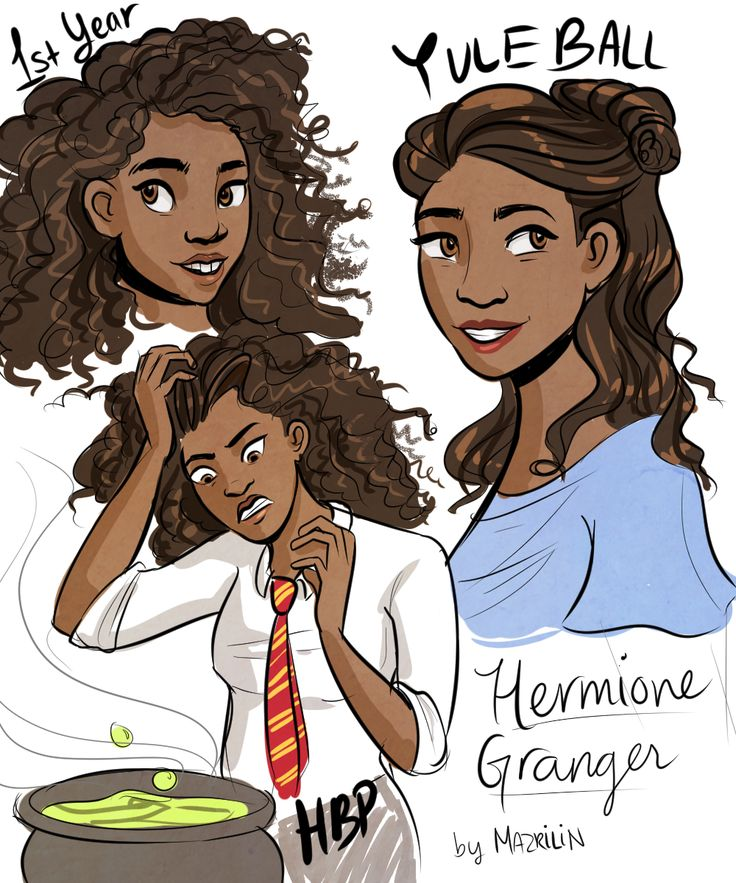 If Hermione was black
