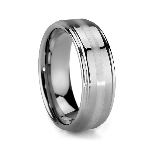 Tungsten Platinum: 17 Best Images About Tungsten Carbide Rings On Pinterest