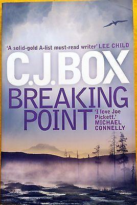 Breaking Point: Joe Pickett 13 by C. J. Box FREE AUS POST used paperback 2013