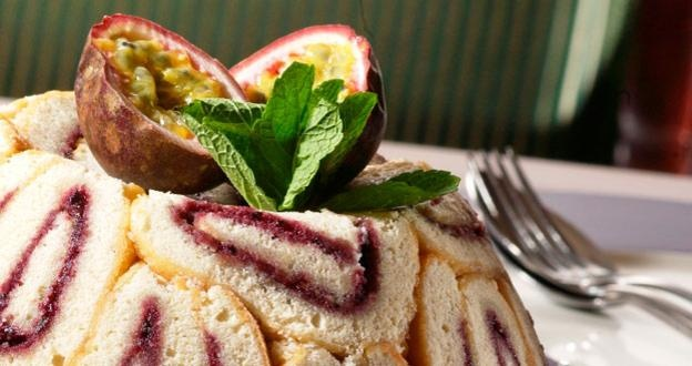 Britain's pudding club - BBC Travel - Passionfruit Charlotte pudding... Mmm I love English puddings.