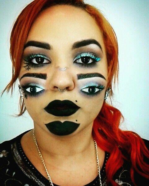 Yaz halloween 3D makeup #makeup #makeupartist #halloween ...
