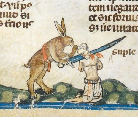 Medieval Times: Attack of the giant killer rabbits!   Dangerous Minds - Monty Python were right!