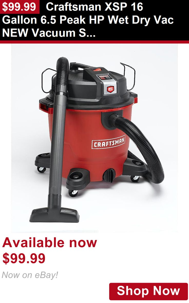 Telescope Eyepieces And Lenses: Craftsman Xsp 16 Gallon 6.5 Peak Hp Wet Dry Vac New Vacuum Shop Cleaner BUY IT NOW ONLY: $99.99