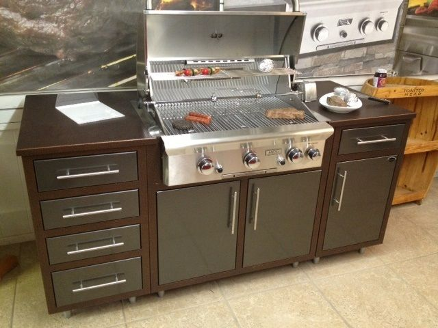 Challenger CH11CHA Luxury Prefab Outdoor Kitchen With Grill--Complete  Package - Big Ridge Outdoor