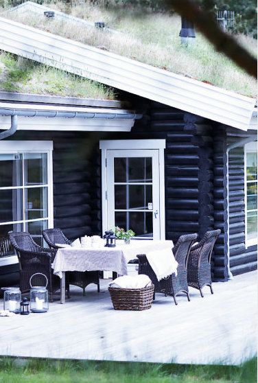 A typical #Danish holiday house #denmark #travel #design