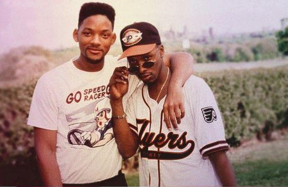 Will Smith e Jeffrey A. Townes, o Jazz de Um Maluco no Pedaço.