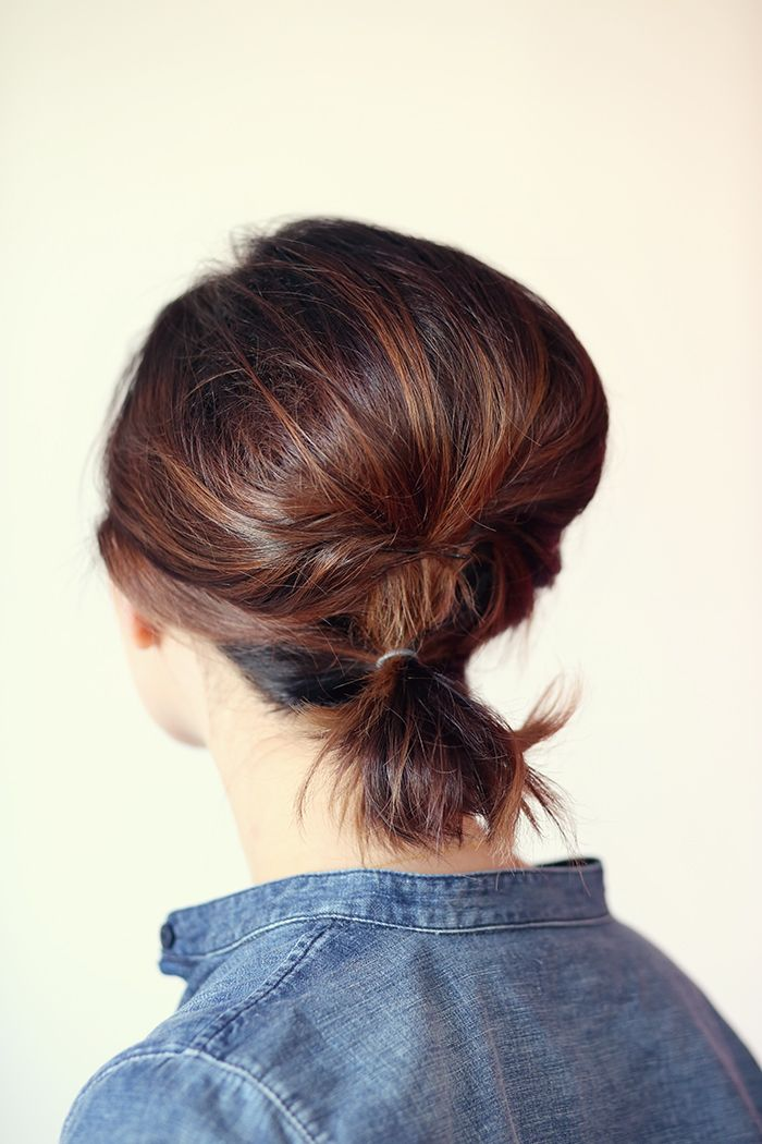 Hair How To: Volumized Ponytail Tutorial For Short Hair...for the latest in trending accessories, visit Designs By Maral, on etsy ...http://etsy.com/shop/designsbymaral/...