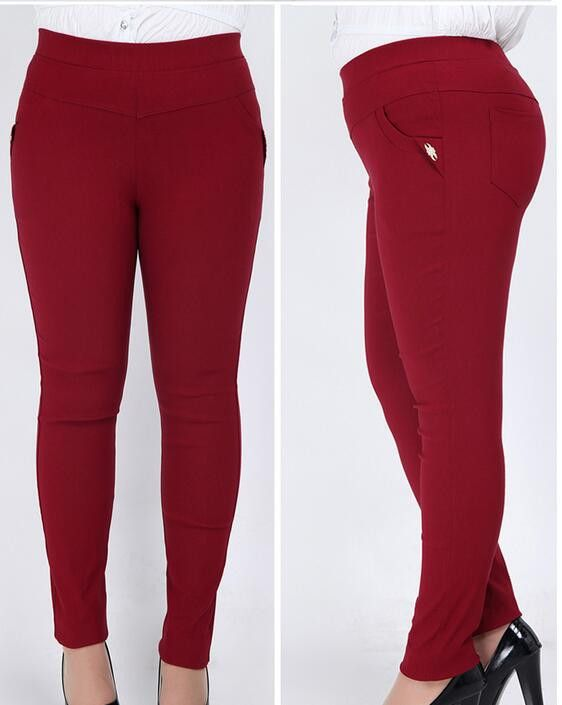 New Summer Autumn Women Casual Pants Pluse Size 6XL Female Sports Women's Skinny Sport Pants Capris Trousers