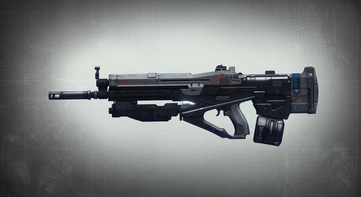 Weapon concept - Game: Destiny