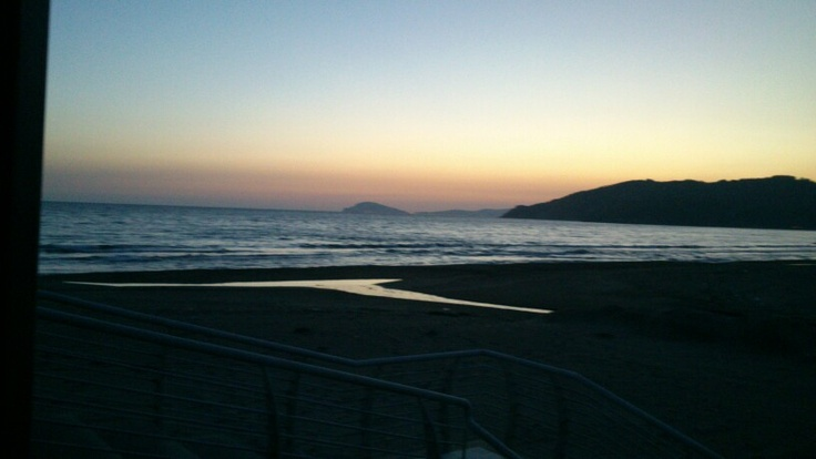 Scauri al tramonto