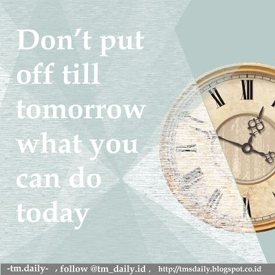 TM.Daily: what you can do today