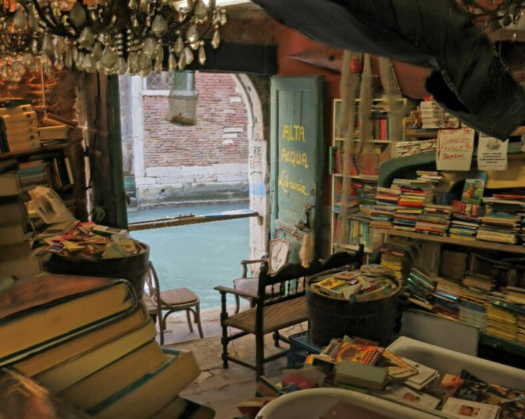 Highwater library in Venice