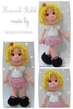 Amigurumi, Amigurumi Puppenkonstruktion, Amigurumi kostenlose Muster, Amigurumi Puppe, Cr …