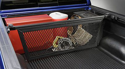 Toyota Tundra Truck Accessories--Cargo Divider I want something like this for David's Truck