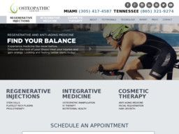 New listing in Health Spas added to CMac.ws. The Osteopathic Center in Miami, FL - http://health-spas.cmac.ws/the-osteopathic-center/13912/