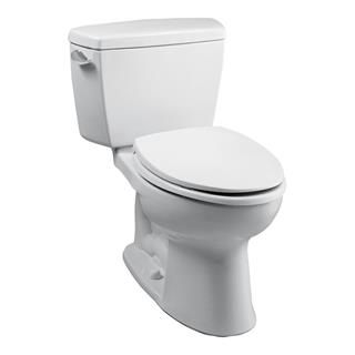 Check out the TOTO CST744SL Drake 1.6 GPF Two Piece Elongated ADA Toilet priced at $275.67 at Homeclick.com.