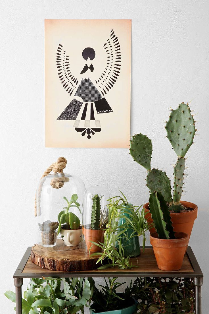 Cactuses are the hipsters of plants. And I still love them! Sourced via Urban Outfitters.