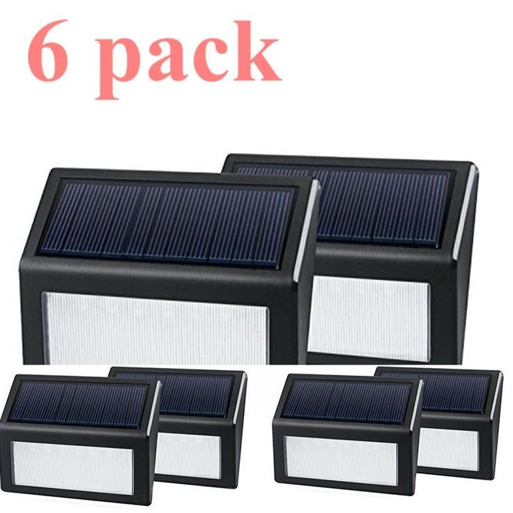 solar powered wall light solar led light wall mount garden path lamp step lights outdoor