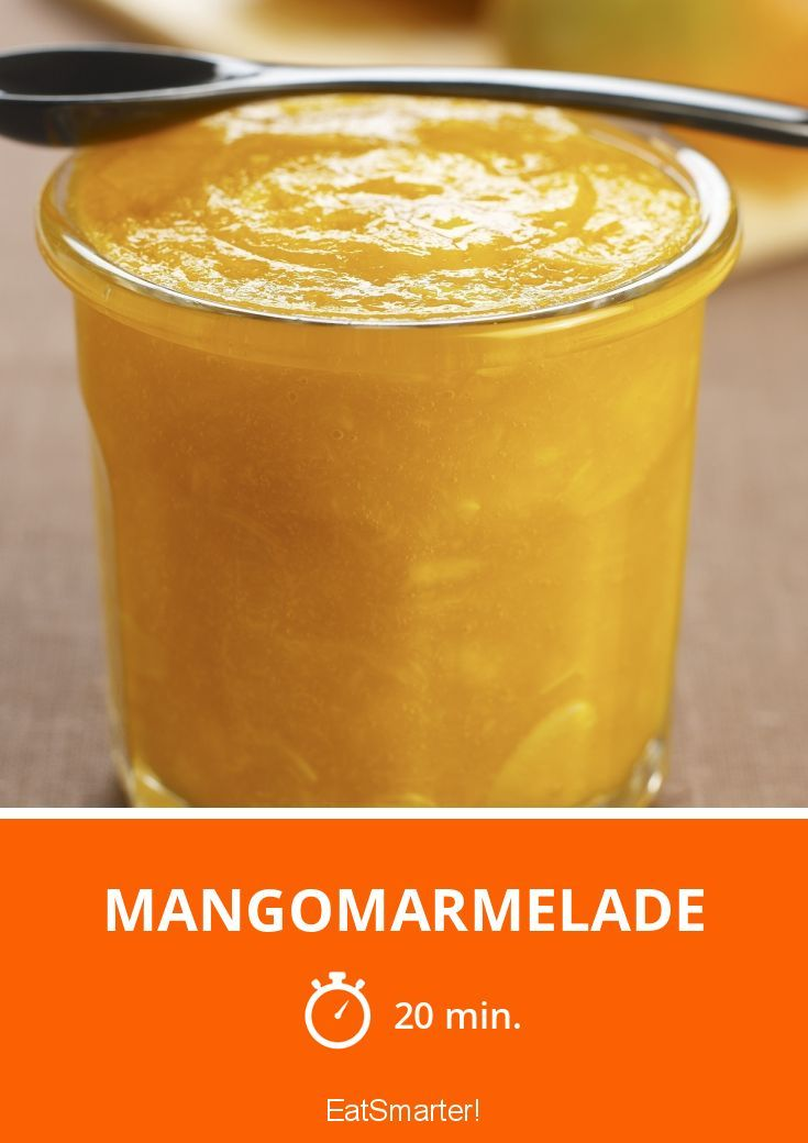 Mangomarmelade - smarter - Zeit: 20 Min. | eatsmarter.de