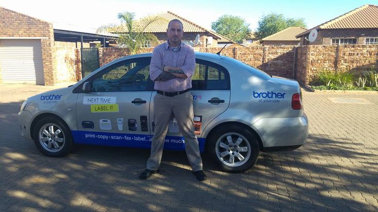 One of our #BrotherSouthAfrica drivers getting paid to get the conversation started. #EarnExtraCash #BrandYourCar #Bucks4Influence