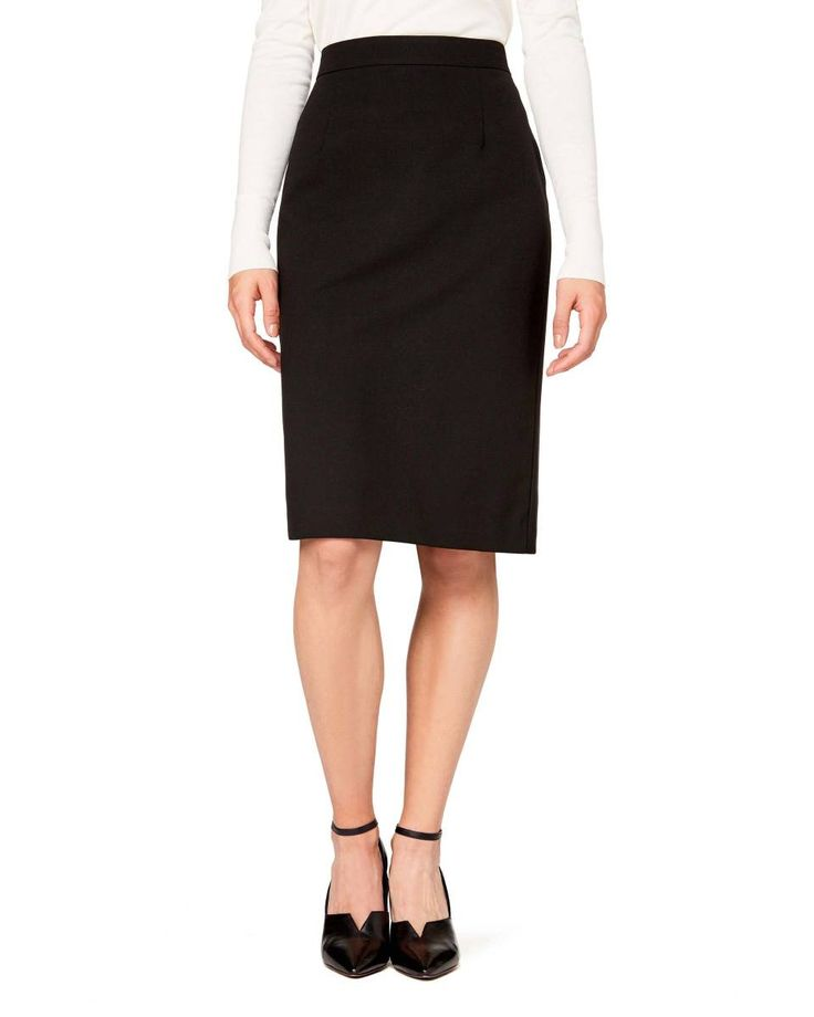 Pencil skirt, Black - Check out the new collection at benetton.com.