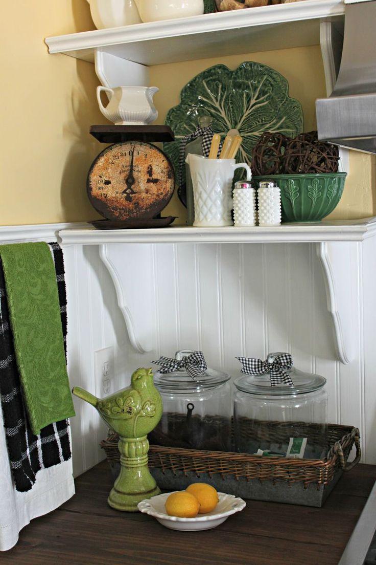 Opulent Cottage Kitchen Shelves 2