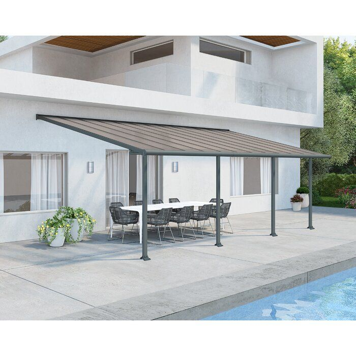 Olympia Plastic Standard Patio Awning In 2020 Patio Awning Gable Roof Design Roof Styles