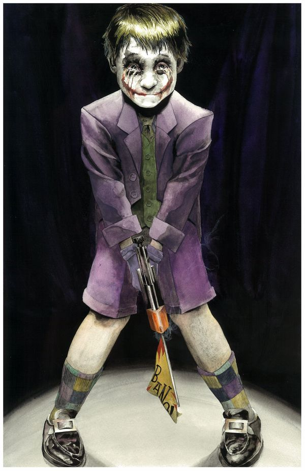 Child joker I would like to know more of Joker history i mean i know it its just i want to know more of it.