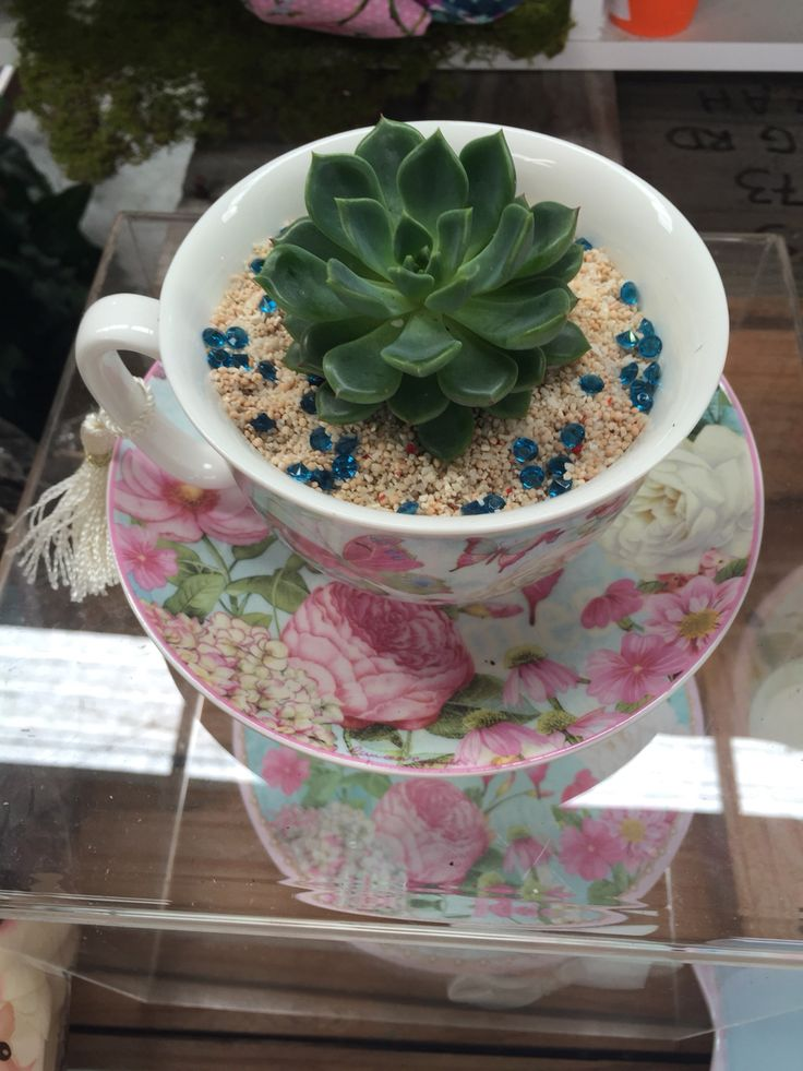 A Little Bling In A Tea Cup