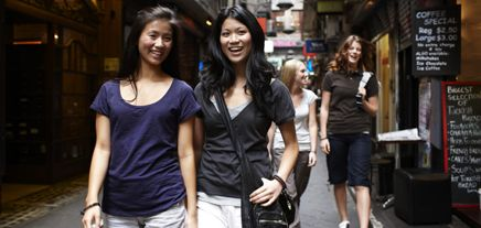 Melbourne self guided walking tours
