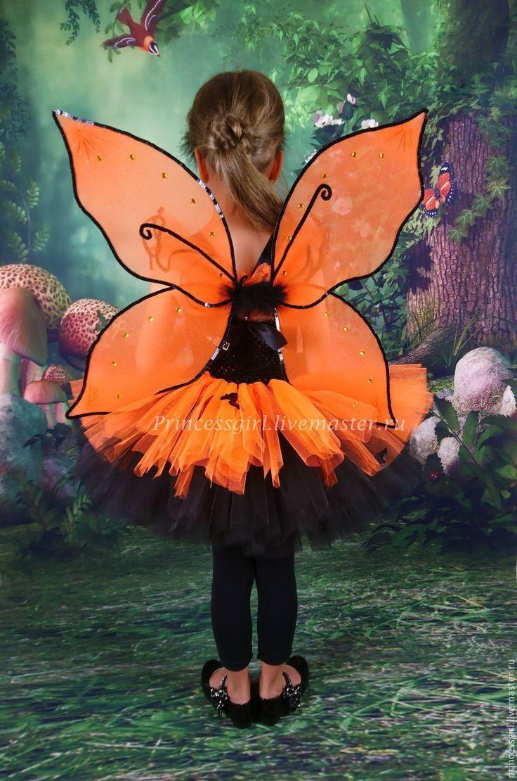 Купить или заказать Костюм бабочки в интернет магазине на Ярмарке Мастеров. С доставкой по России и СНГ. Материалы: фатин блестящий, атласные ленты,…. Размер: 98 до 146см