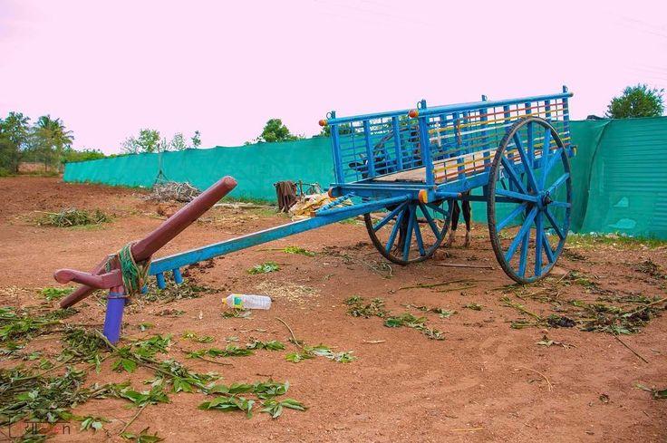 #bull #cart #india #village #myblr #sobangalore #bangalore #yaseenpics #gadag #loveit