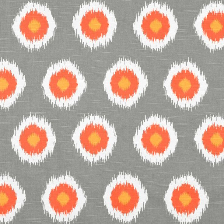 Ikat Domino colour Chilli Find this and other great fabrics at www.curtaineasy.co.nz