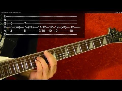 25 Best Heavy Metal Riffs Ever! EASY Guitar Lesson ( 2 of 2 ) With TABS - YouTube